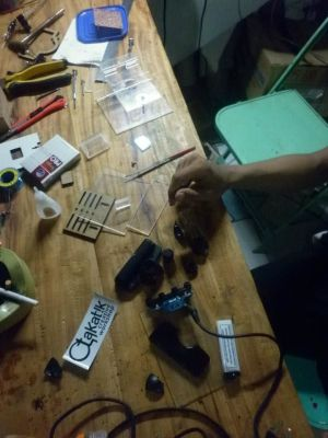 DIY microscope stage kit -Indonesia clone - PS3Eye