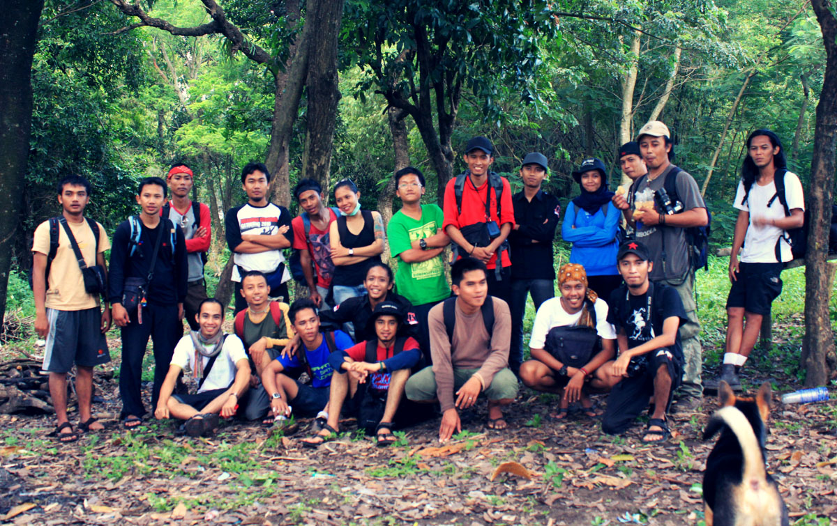 JRP team on Hutan Pangan Cultural Center