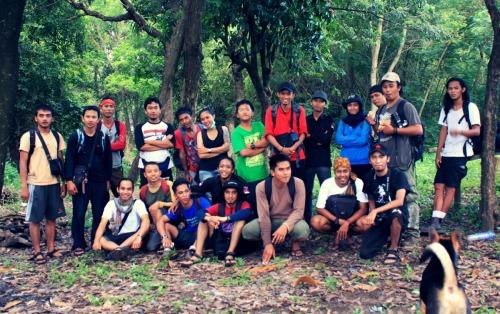 JRP team on Hutan Pangan Cultural Center