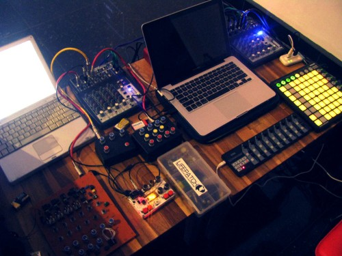 andreas siagian and tengal sound instrument for carp2dragon final collaborative performance