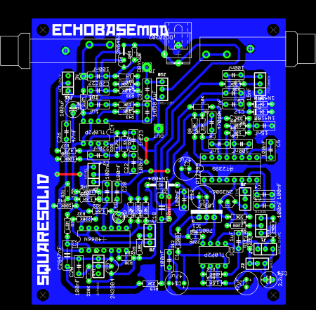 echobase board layout by squaresolid