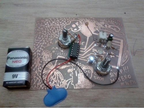 Cindy Lin's circuit