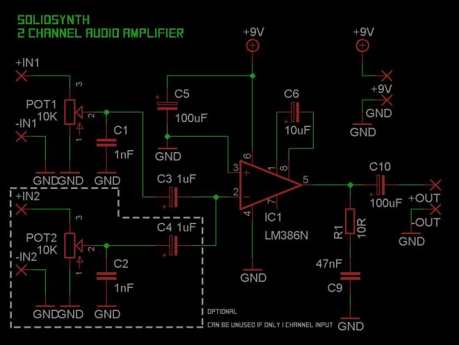 386amp schematic