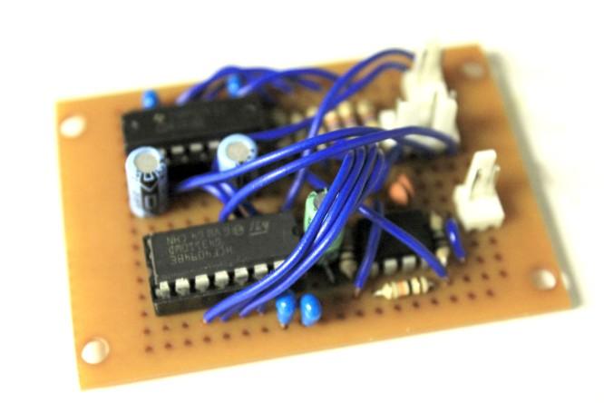 8-bit Woodtape Analog Circuit