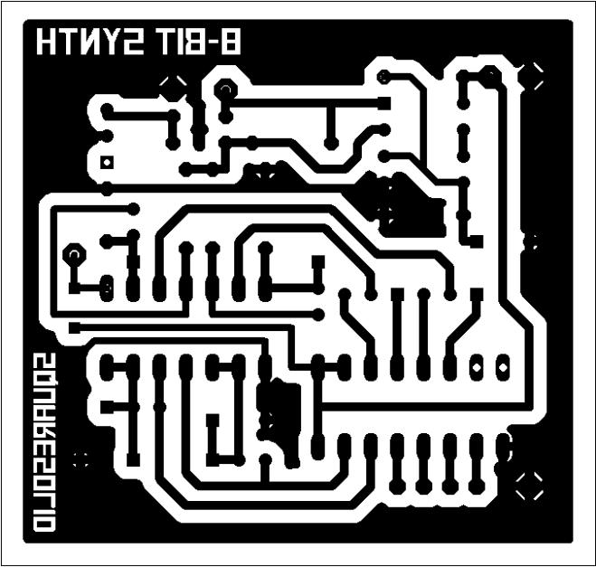 8bitanalog PCB