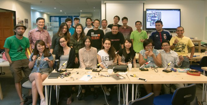 Squaresynth Workshop in Penang 16