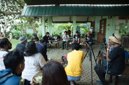 Program Diskusi bersama WALHI, Komikazer dan Andreas Siagian, moderator oleh Saleh Husein di RRRecfest in The Valley 2015