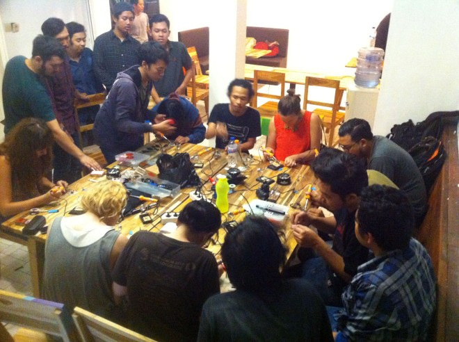 Workshop Squaresynth Electrowork 5.0 Surabaya 02 copy