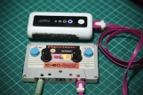 8-bit Mixtape Clasic charged with powerbank