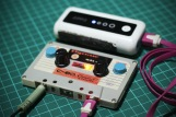 8-bit Mixtape Classic charged with power bank